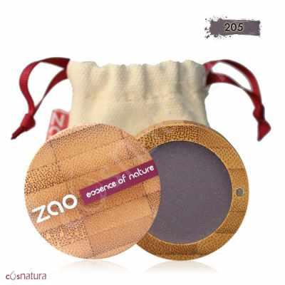 Sombra de Ojos Mate 205 Violet Sombre Zao
