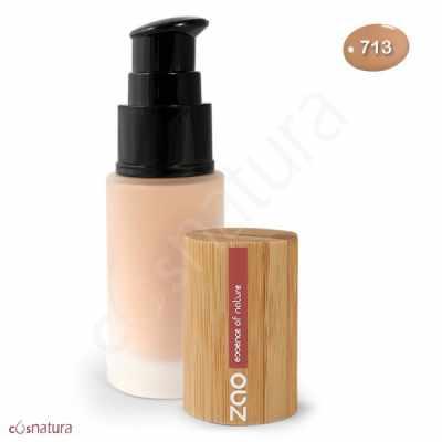Maquillaje Fluido 713 Beige Clair Zao