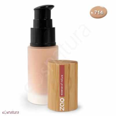 Maquillaje Fluido 714 Beige Naturel Zao