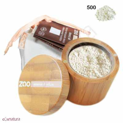 Polvo Seda Mineral 500 Translúcido Zao