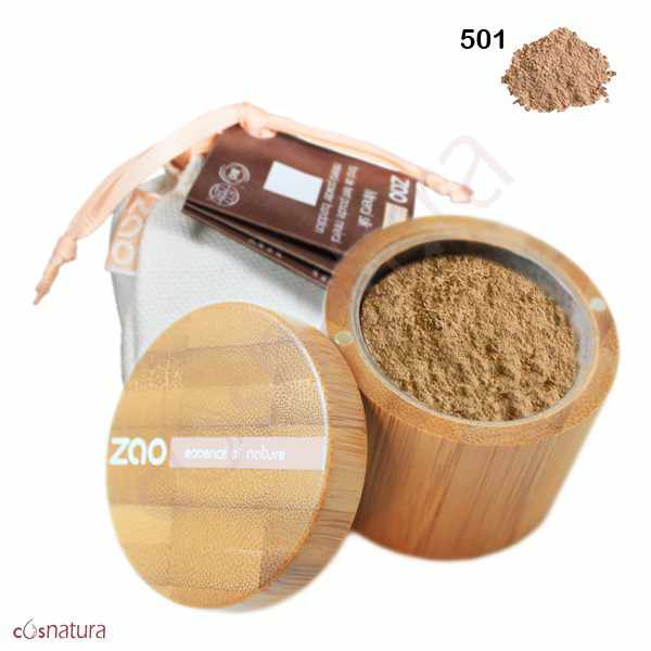 Polvo Seda Mineral 501 Beige Claro Zao