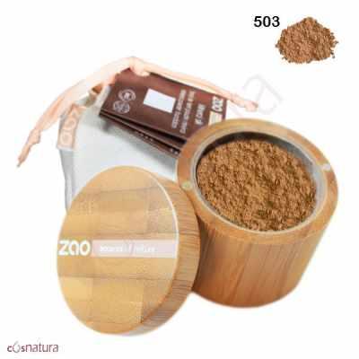Polvo Seda Mineral 503 Beige Orange Zao