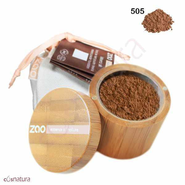Polvo Seda Mineral 505 Beige Noisette Zao