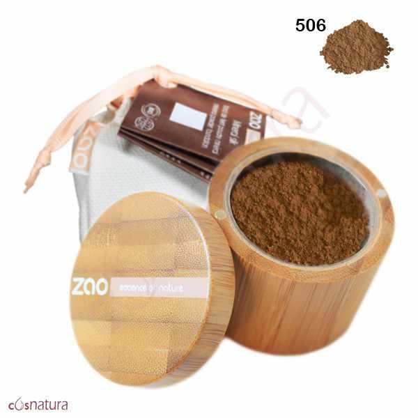 Polvo Seda Mineral 506 Beige Brun Zao