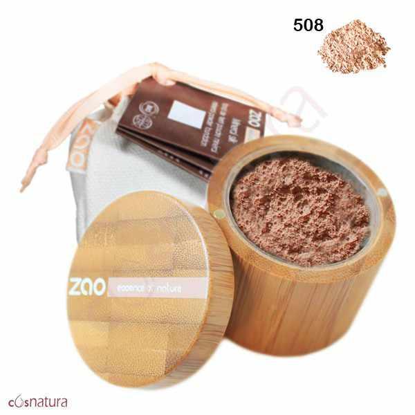 Polvo Seda Mineral 508 Ivoire Rose Claro Zao