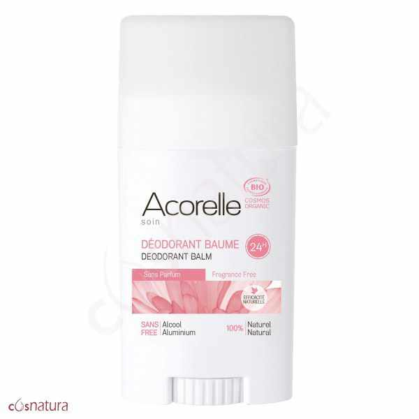 Desodorante Balsamo Sin Perfume Acorelle