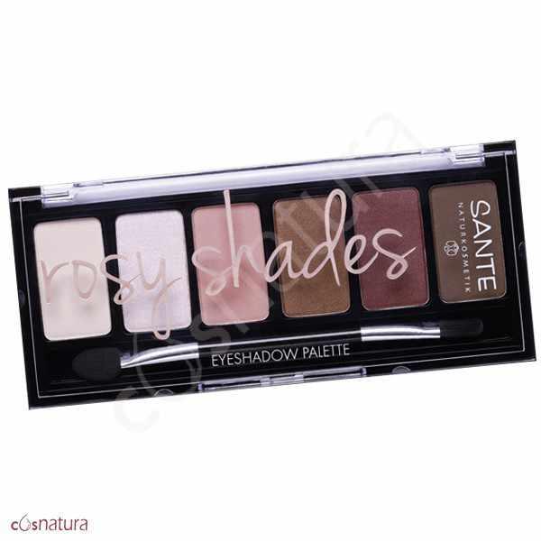 Paleta Sombra de Ojos 02 Rosy Shades Sante
