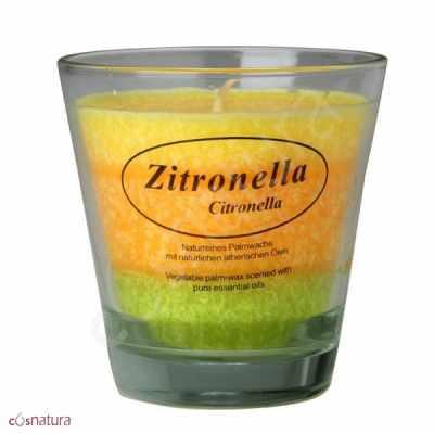 Vela Perfumada Citronella Antimosquitos