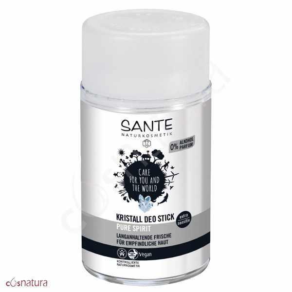 Desodorante Mineral Stick Pure Spirit Sante