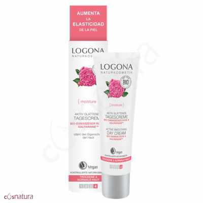 Crema Dia Alisadora Rosa Damascena & Kalpariane Bio Logona