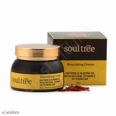Crema Nutritiva Ayurveda Azafrán & Almendras Soultree