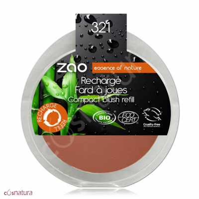 Recarga Colorete 321 Brun Orange Zao