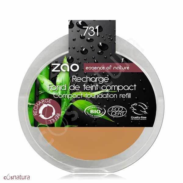 Recarga Maquillaje Compacto 731 Abricot Zao