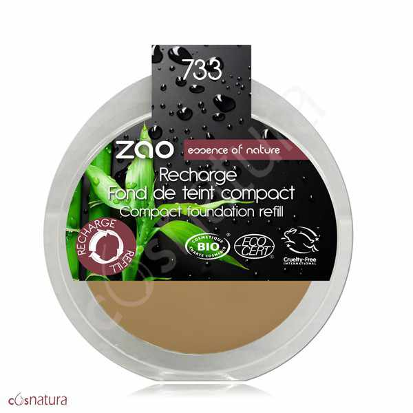 Recarga Maquillaje Compacto 733 Neutre Zao