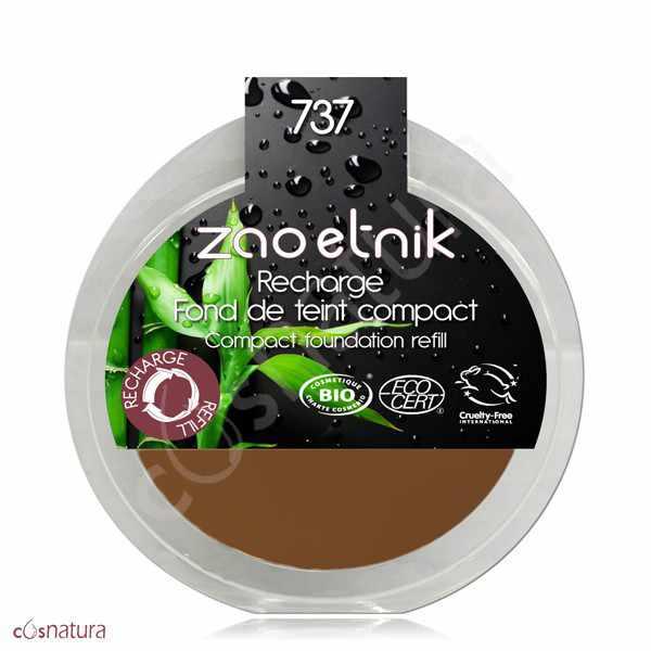 Recarga Maquillaje Compacto 737 Bronze Zao