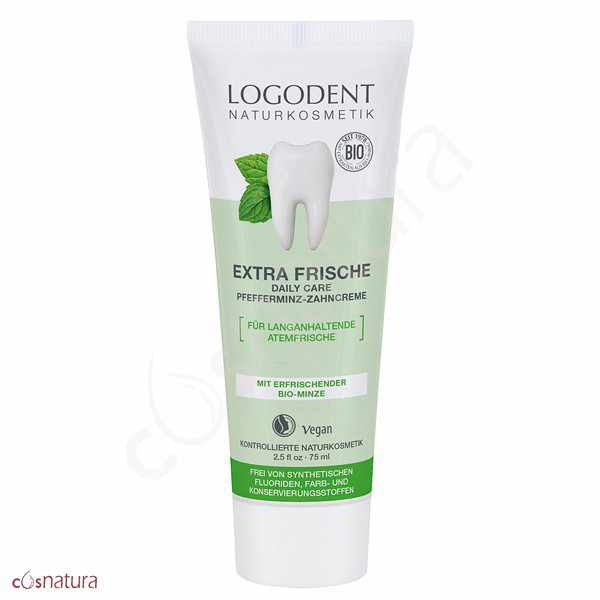 Dentifrico Extra Fresco Menta Daily Care Logodent