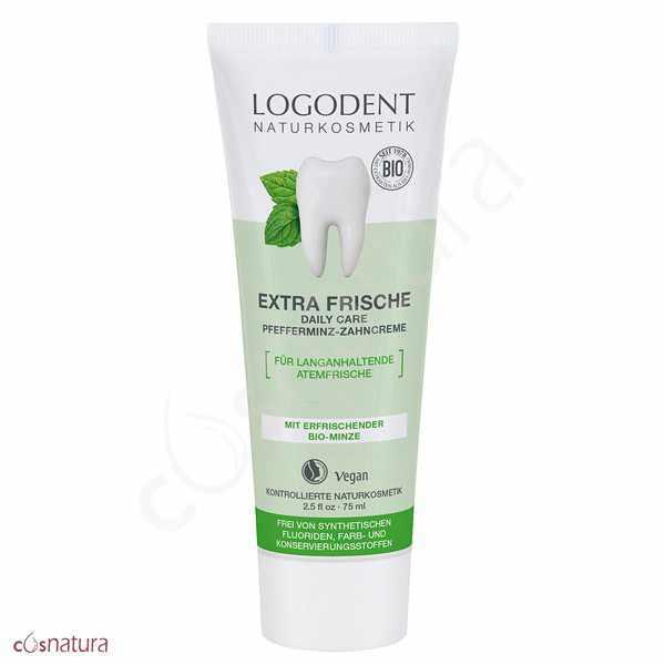 Dentifrico Extra Fresco Menta Daily Care Logodent