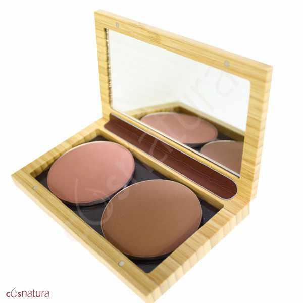 Estuche Maquillaje Bamboo Mini Box Zao