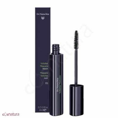 Mascara Pestanas Volumen 01 Black Dr Hauschka