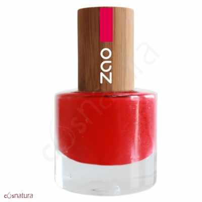 Esmalte de Unas 650 Rouge Carmin Zao