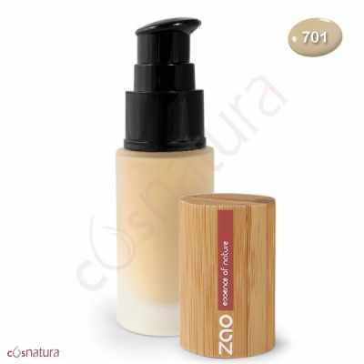 Maquillaje Fluido 701 Ivoire Zao