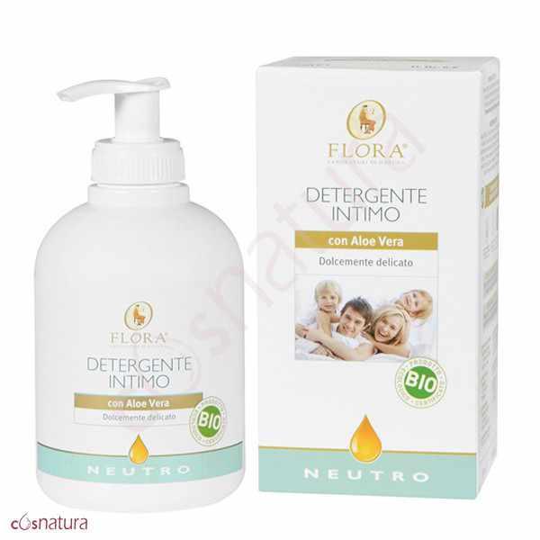 Detergente Intimo Neutro de Aloe Vera Flora