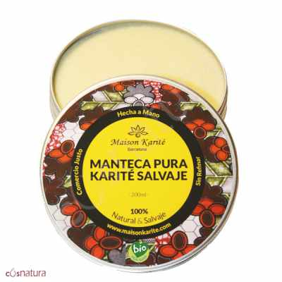 Manteca de Karité Salvaje Virgen BIO Marison Karité