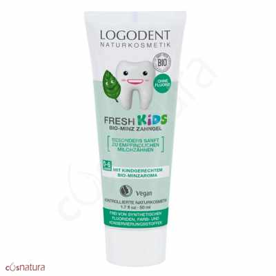 Gel dental Fresh Kids Niños Menta Logodent