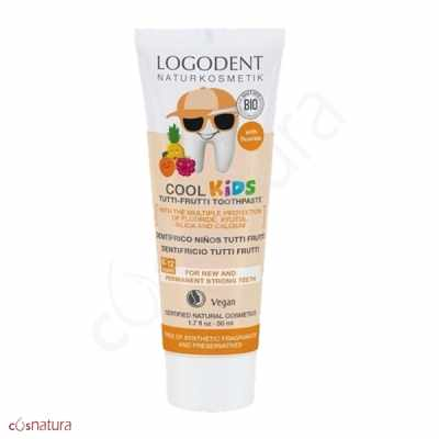 Gel dental Cool Kids Niños Tutti Frutti Logodent