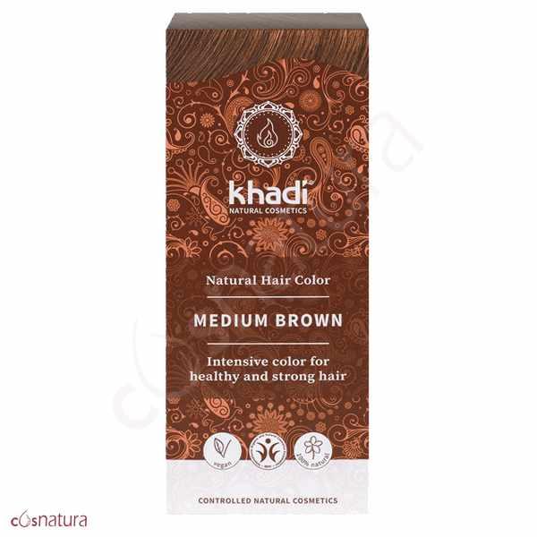 Tinte Vegetal Castaño Medio Khadi