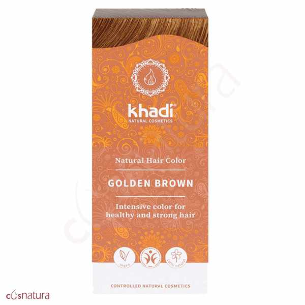 Tinte Vegetal Castaño Dorado Khadi