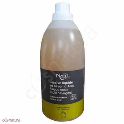 Detergente Líquido Jabón de Alepo Sin Perfume Najel