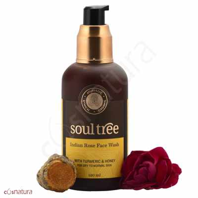 Gel Limpiador Facial Rosas Soul Tree
