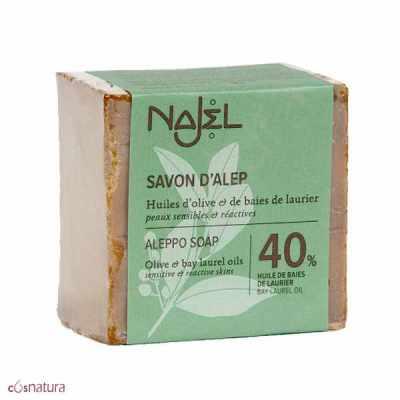 Jabón de Alepo 40% 200gr Najel