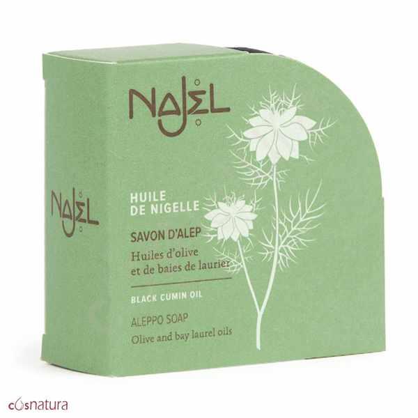 Jabón de Alepo con Aceite de Comino Negro 100gr Najel