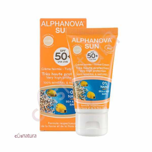 Protector Solar Color Claro SPF50+ Alphanova Sun