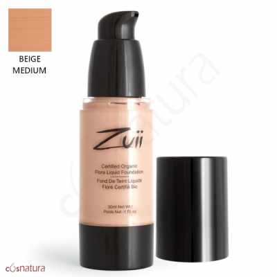 Base Líquida Beige Medium Zuii Organic