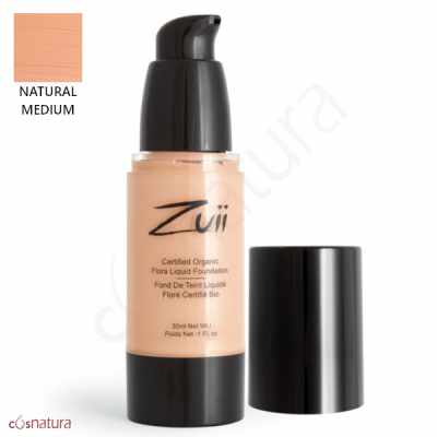 Base Líquida Natural Medium Zuii Organic