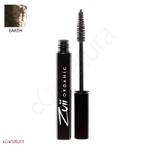 Mascara Pestañas Earth Zuii Organic