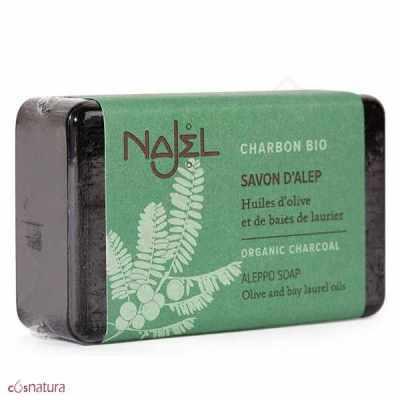 Jabón de Alepo con Carbón Bio Najel