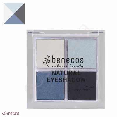 Paleta Sombra de Ojos Quattro 04 True Blue Benecos