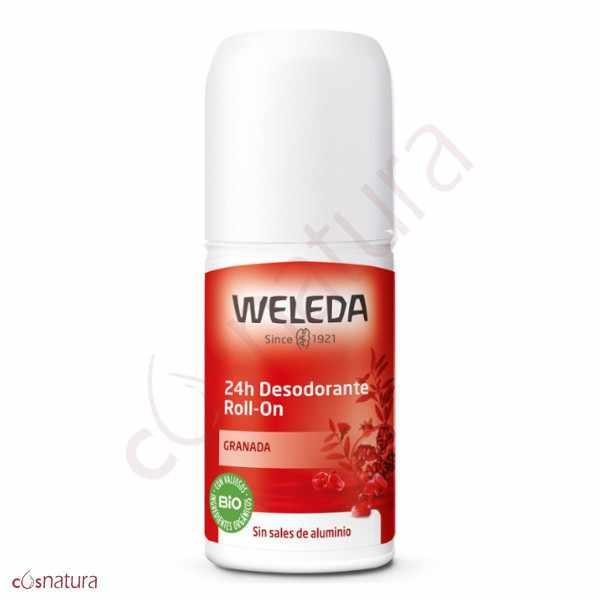 Desodorante Roll-On 24h de Granada Weleda