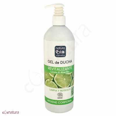 Gel de Ducha Revitalizante Limón & Aloe NaturaBio