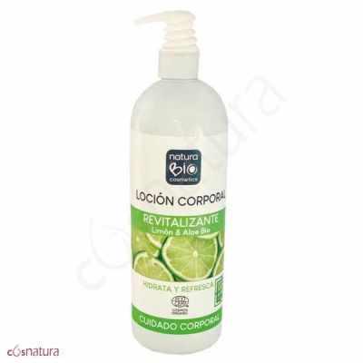 Loción Corporal Revitalizante Limón & Aloe NaturaBio