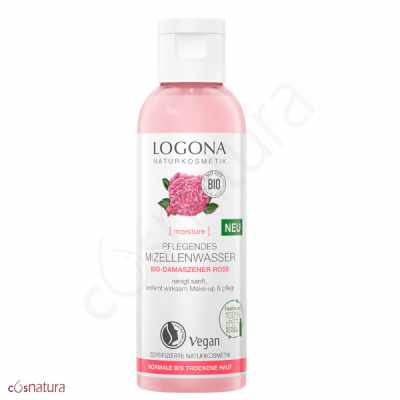 Agua Micelar Rosa Damas Logona