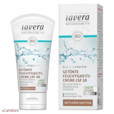 Crema Dia Color Medio SPF10 Lavera