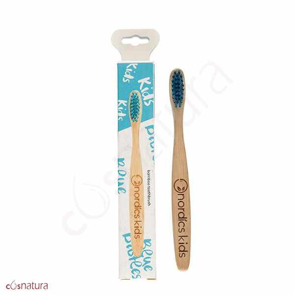 Cepillo Dental Bambú Kids Nordics Azul