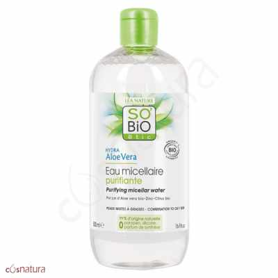 Agua Micelar Purificante So'Bio Étic