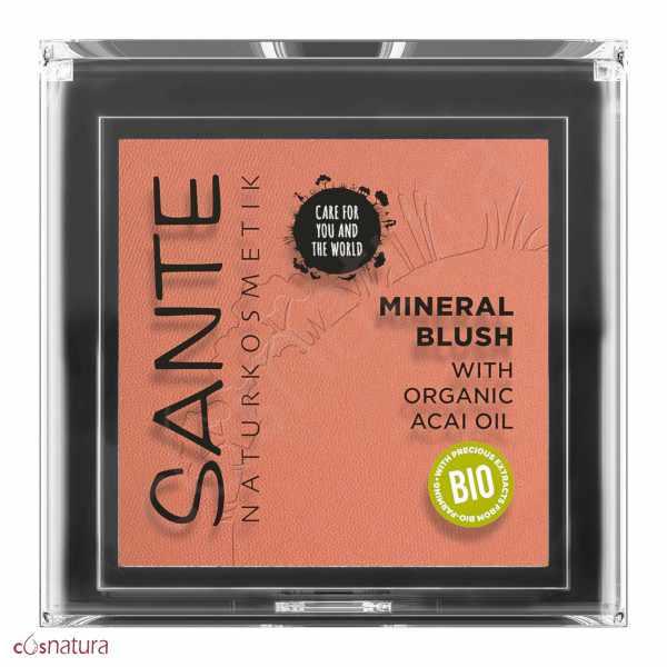 Colorete Mineral 02 Coral Bronce Sante