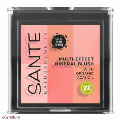 Colorete Multi Effect 6 Tonos 01 Coral Sante